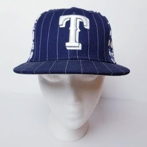 Texas Rangers Baseball New Era Fitted Cap Hat